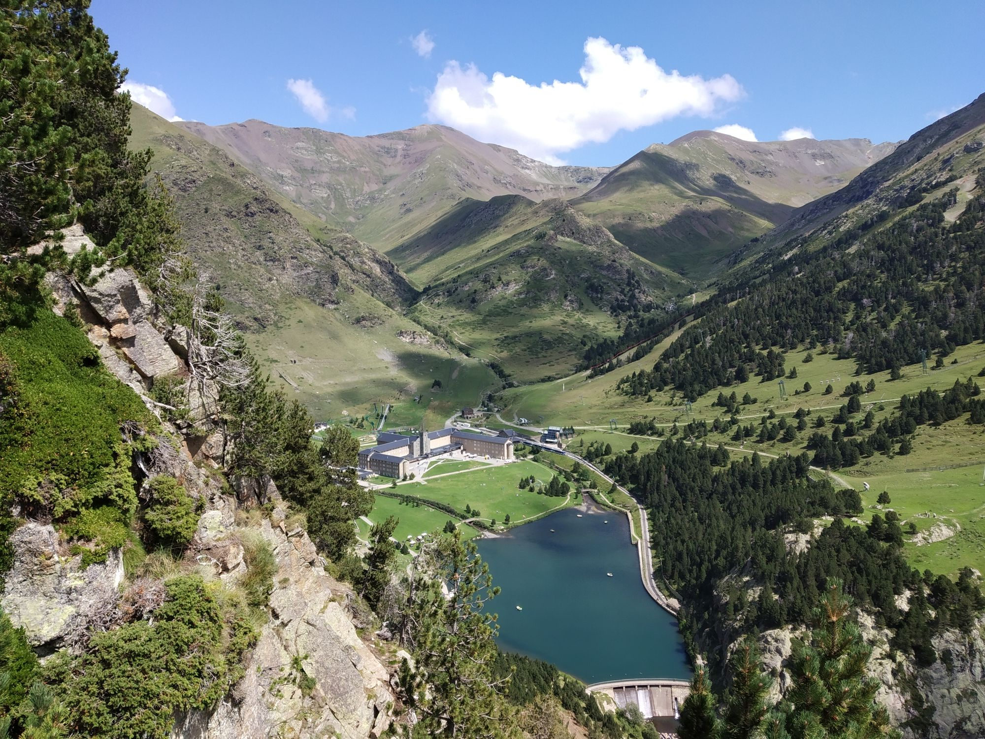 Valleys and Waterfalls in the Catalan Pyrenees
