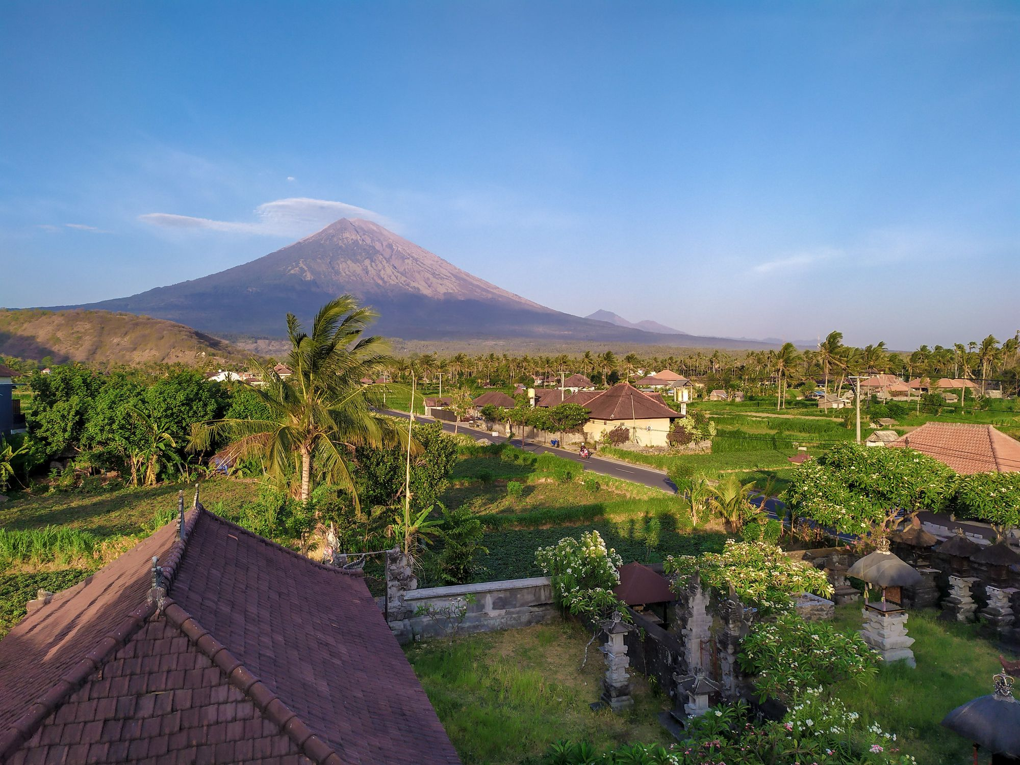Secret beaches and volcano views in East Bali
